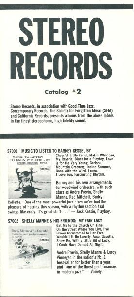 Contemporary Records 3 1