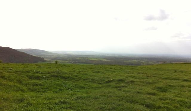 Looking west from Woolstonbury