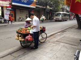 Early morning Hanoi