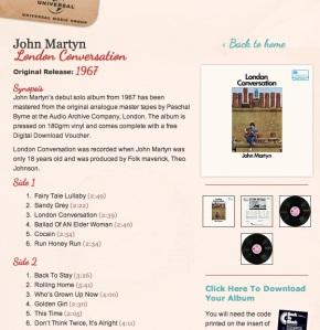 John Martyn london conversation