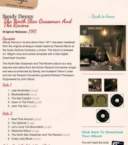 Sandy Denny North Star