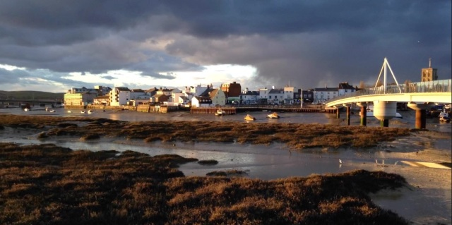 Shoreham-By-Sea bathed in late winter sun