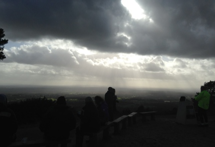 Looking south from Leith Hill