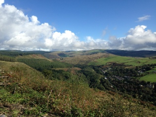 View from Afan